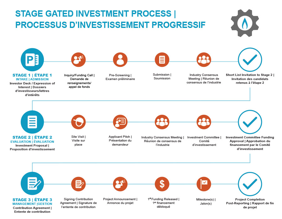 NGIF Stage Gated Investment Process Infographic
