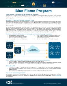 CGA Blue Flame Program One-Pager